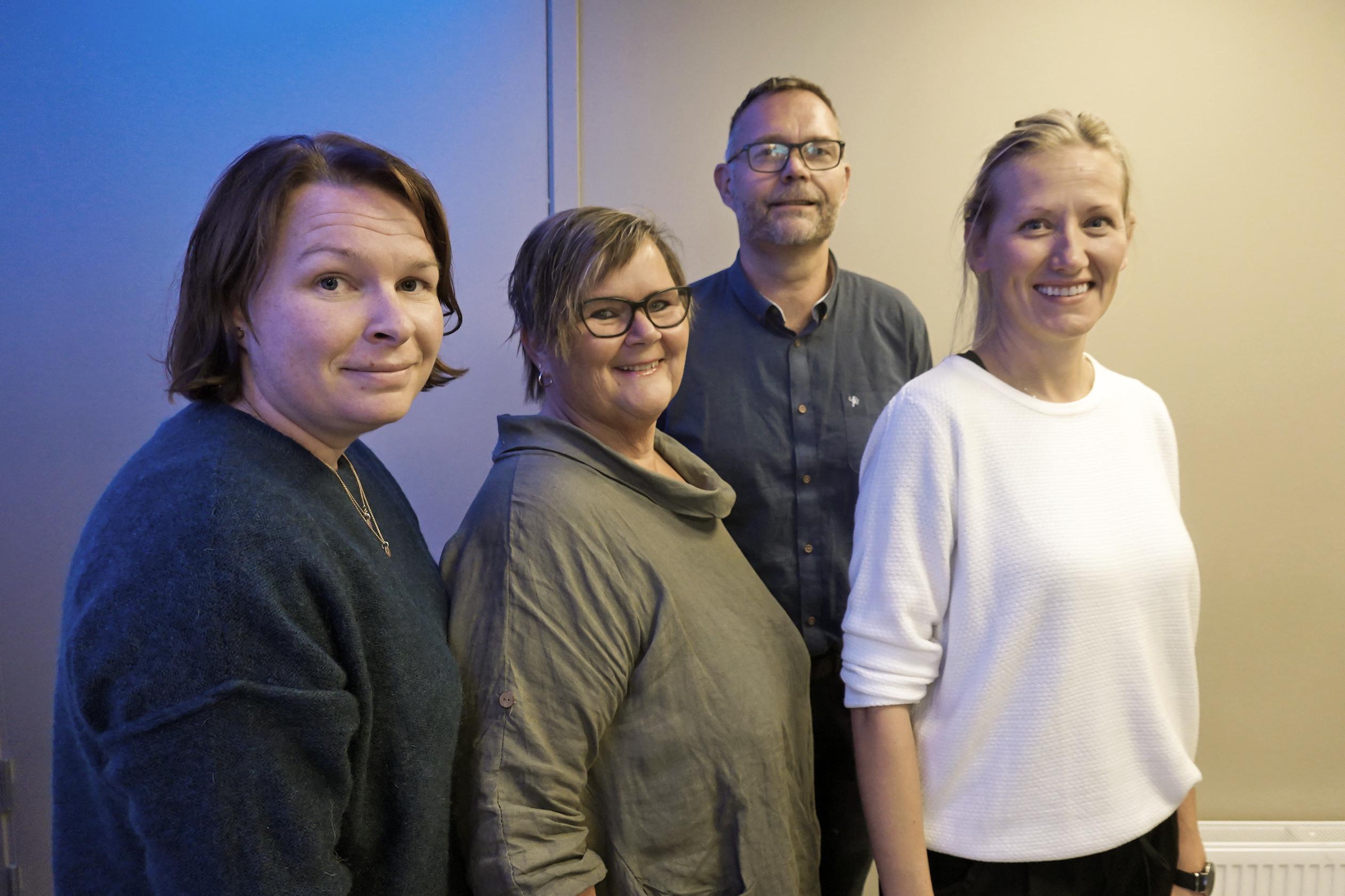AMK-leiarane frå Førde, Bergen, Stavanger og Haugesund.