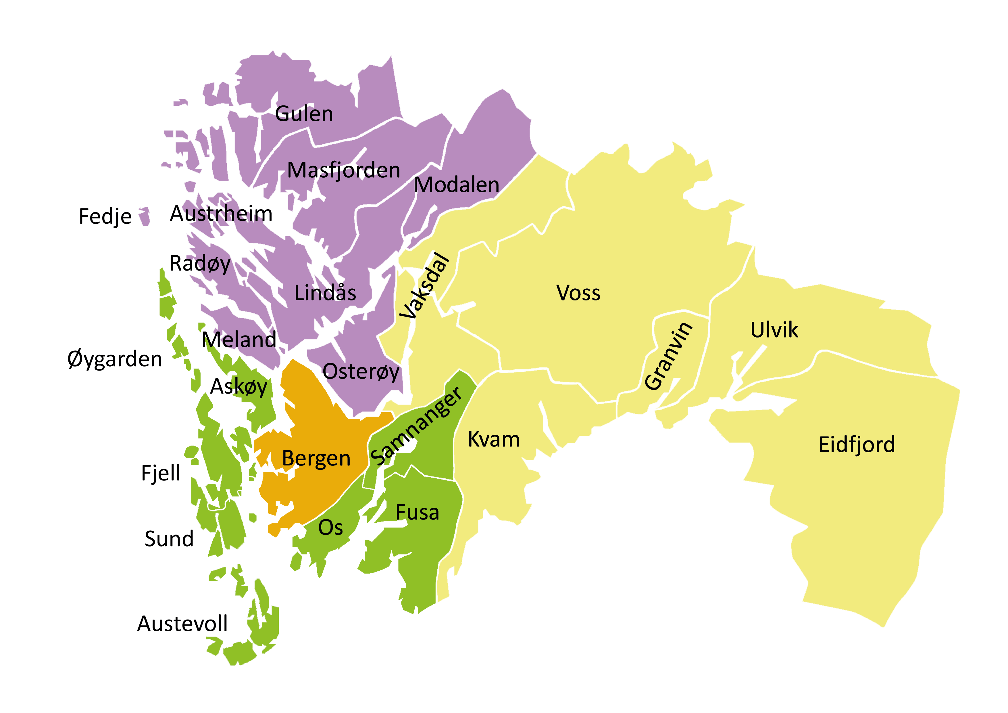 bergen bydeler kart Kart   Helse Bergen bergen bydeler kart