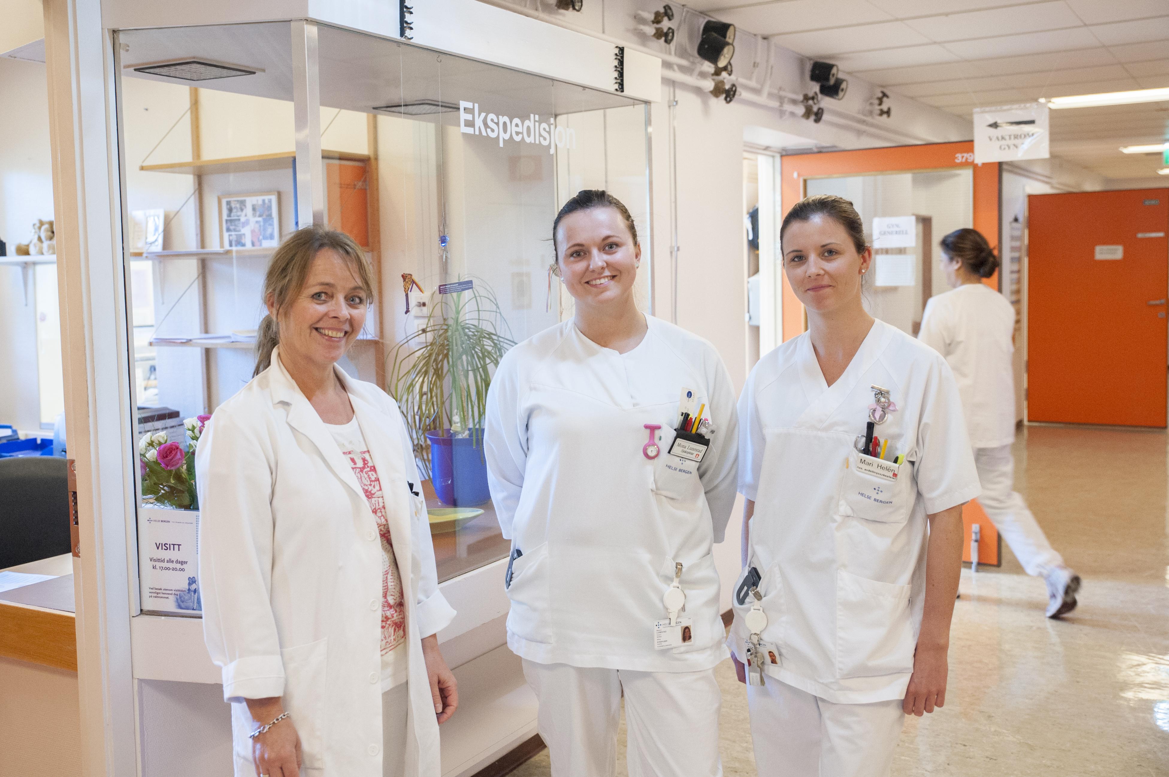 gynekologisk avdeling haukeland