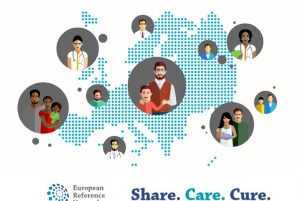 Illustrasjon av Europa, pasienter og leger