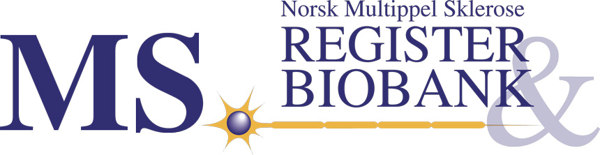 Logo MS register og biobank