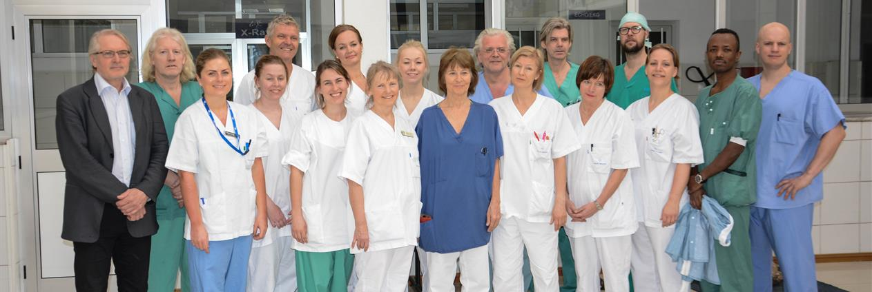 Hjarteteamet ved Black Lion Hospital