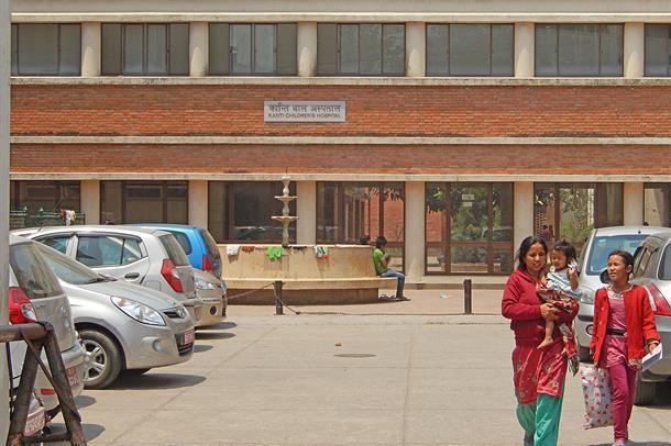 Kanti Children's Hospital i Nepal